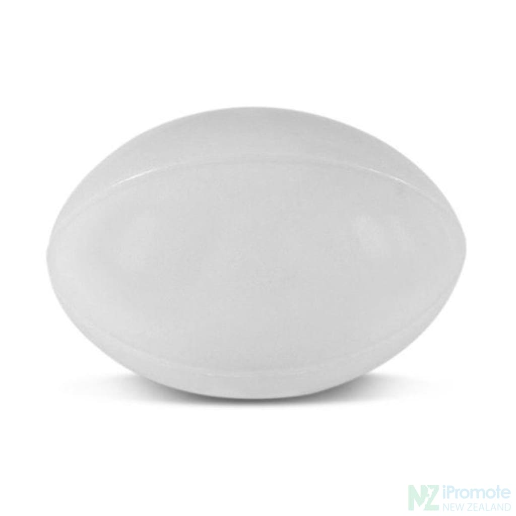 Rugby Ball Stress Reliever White Relievers