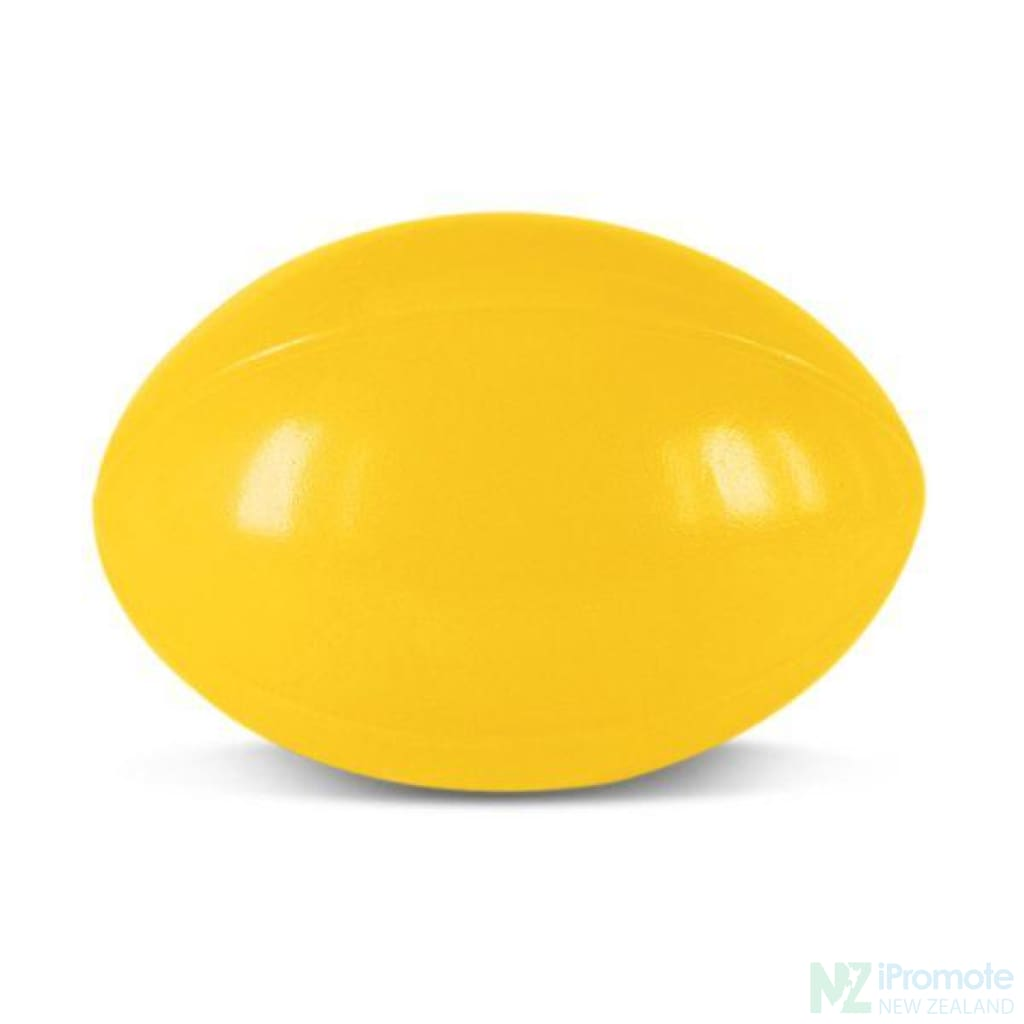 Rugby Ball Stress Reliever Yellow Relievers