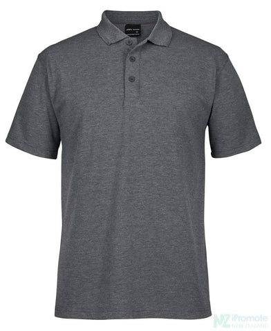 Signature Polo Charcoal Marle (Upf 30) Shirts