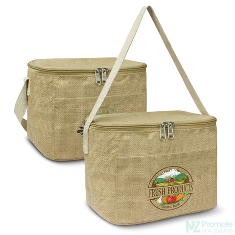 Small 5L Jute Cooler Bag