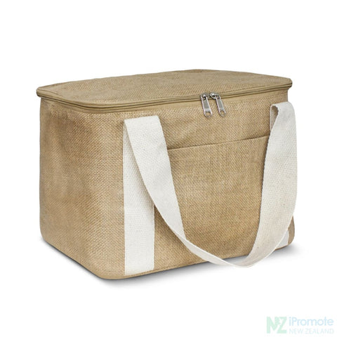 Small Jute Cooler Bag