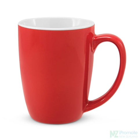 Image of Sorrento Mug Red (7627C) Mugs