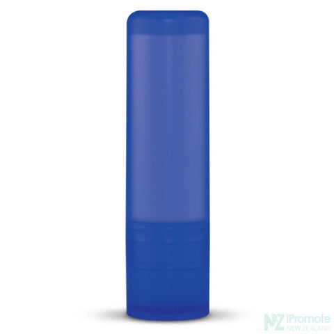Image of Spf10 Lip Balm In Assorted Colour Tubes Dark Blue