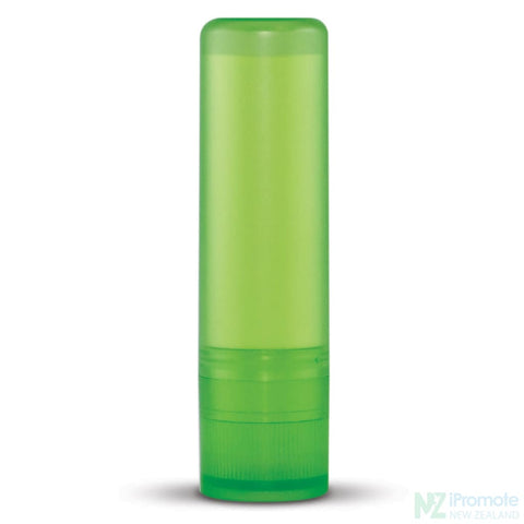 Image of Spf10 Lip Balm In Assorted Colour Tubes Light Green