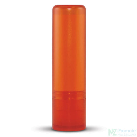 Image of Spf10 Lip Balm In Assorted Colour Tubes Orange