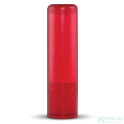Image of Spf10 Lip Balm In Assorted Colour Tubes Red