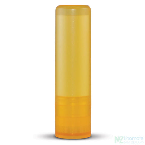 Image of Spf10 Lip Balm In Assorted Colour Tubes Yellow