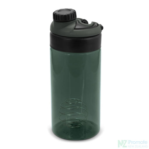 Sports Shaker With Metric Markings Black Bottle