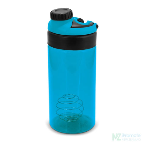Image of Sports Shaker With Metric Markings Light Blue Bottle