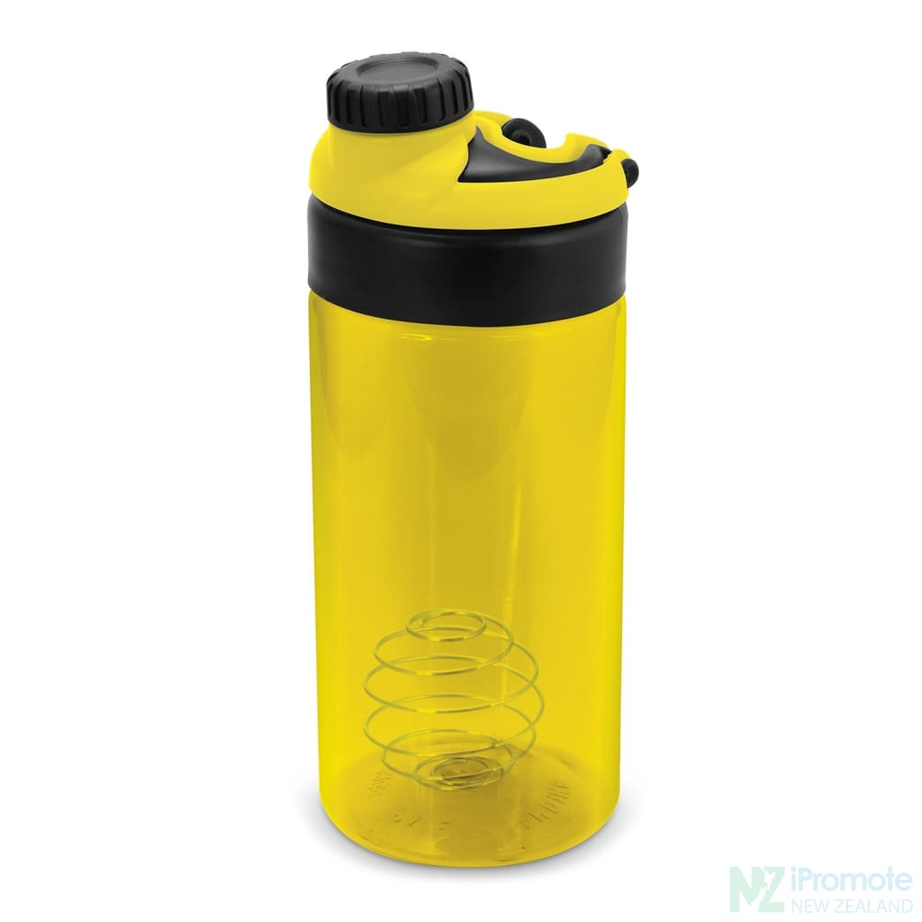 Sports Shaker With Metric Markings Yellow Bottle