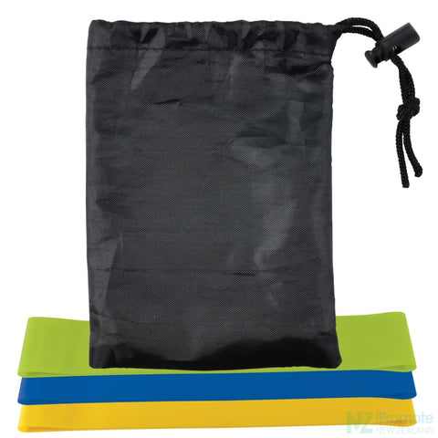Image of Stamina Resistance Bands In Drawstring Pouch Fitness