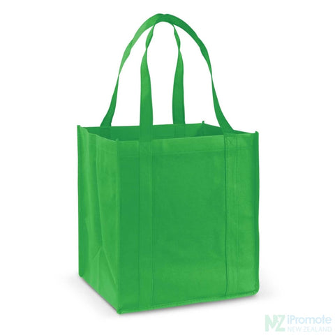 Image of Super Shopper Tote Bag Bright Green Bags