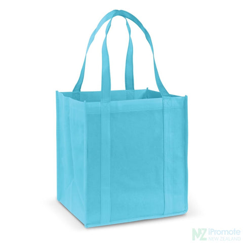 Image of Super Shopper Tote Bag Light Blue Bags