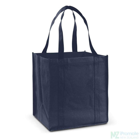 Image of Super Shopper Tote Bag Navy Bags