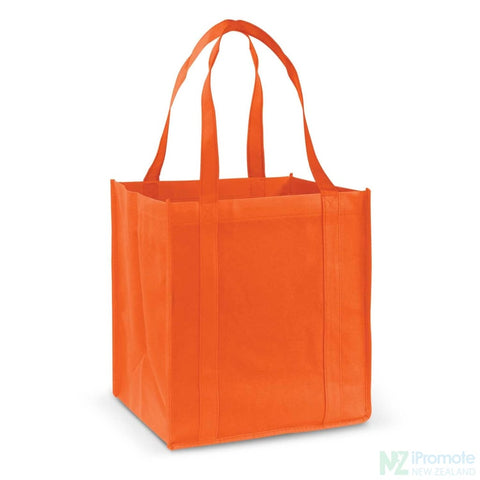 Image of Super Shopper Tote Bag Orange Bags