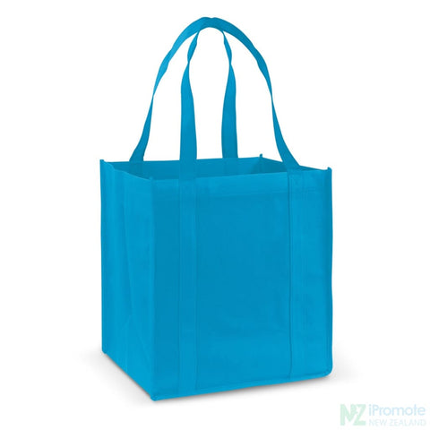 Image of Super Shopper Tote Bag Process Blue Bags