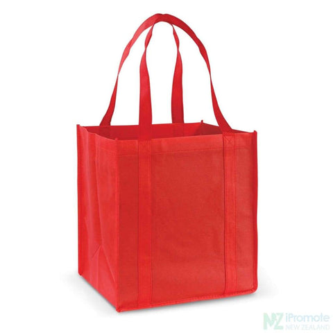 Image of Super Shopper Tote Bag Red Bags