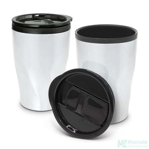 Image of Tornado Double Wall Cup Gloss White Reusable Mugs