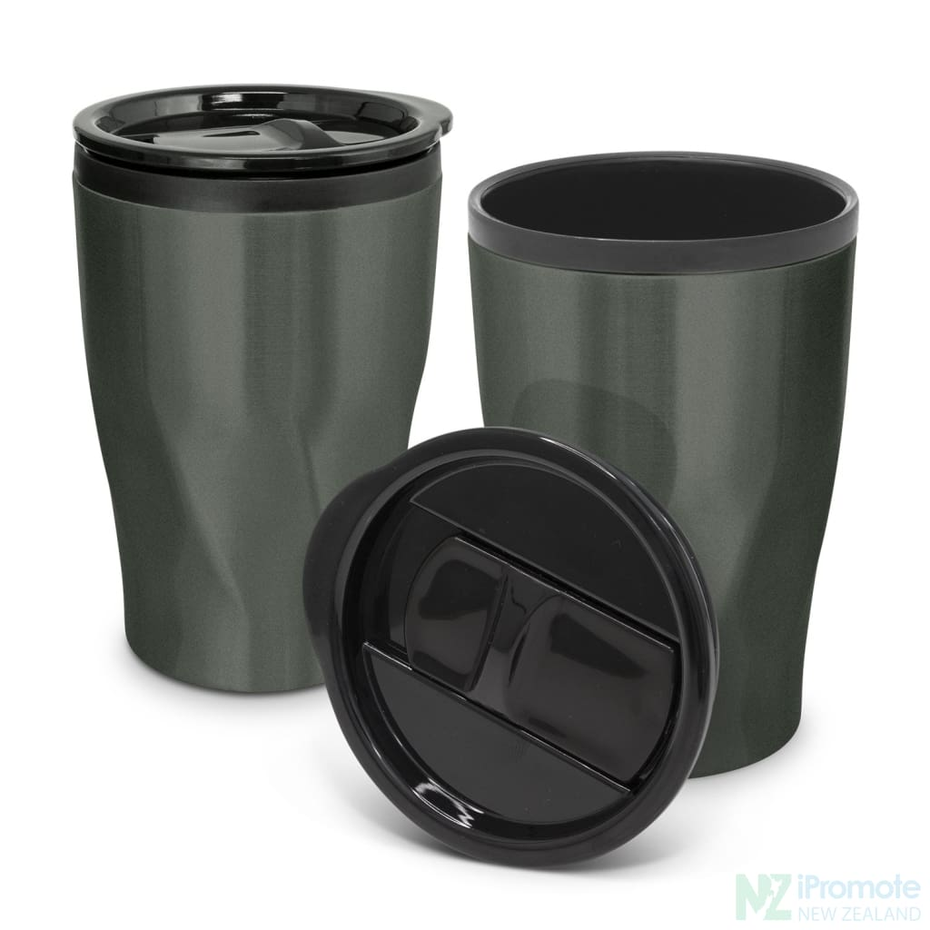 Tornado Double Wall Cup Gunmetal Reusable Mugs