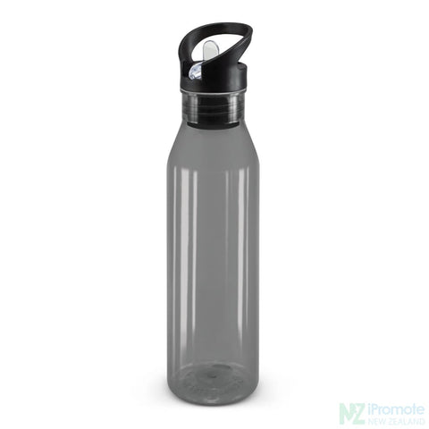 Image of Translucent Nomad Drink Bottle Black Plastic Bpa Free
