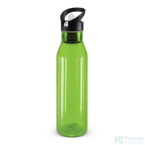 Translucent Nomad Drink Bottle Bright Green Plastic Bpa Free