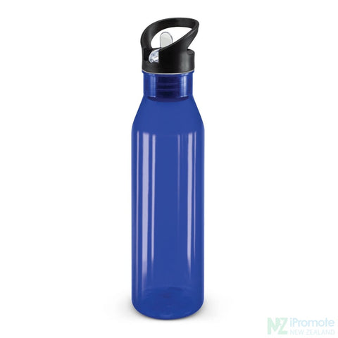 Image of Translucent Nomad Drink Bottle Dark Blue Plastic Bpa Free