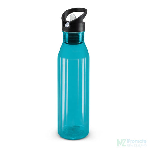 Image of Translucent Nomad Drink Bottle Light Blue Plastic Bpa Free