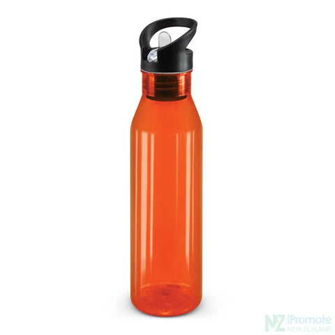 Translucent Nomad Drink Bottle Orange Plastic Bpa Free