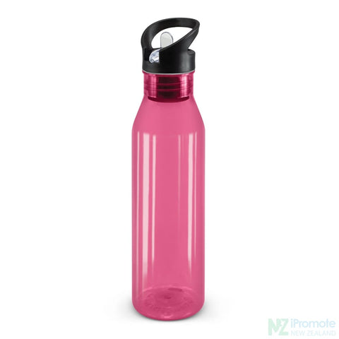 Image of Translucent Nomad Drink Bottle Pink Plastic Bpa Free