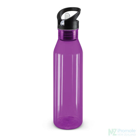 Image of Translucent Nomad Drink Bottle Purple Plastic Bpa Free