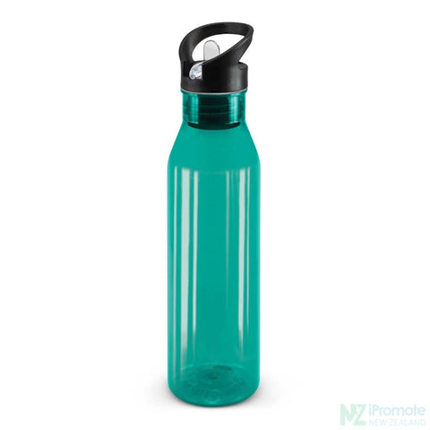 Image of Translucent Nomad Drink Bottle Teal Plastic Bpa Free