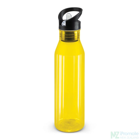 Translucent Nomad Drink Bottle Yellow Plastic Bpa Free