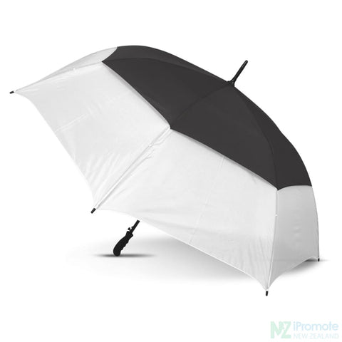Trident Sports Umbrella With White Panels White/black Umbrellas