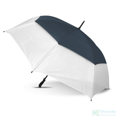 Image of Trident Sports Umbrella With White Panels White/navy Umbrellas