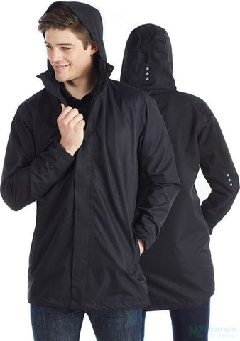 Unisex Waterproof Full Length Jacket 3Xs/8 Jackets