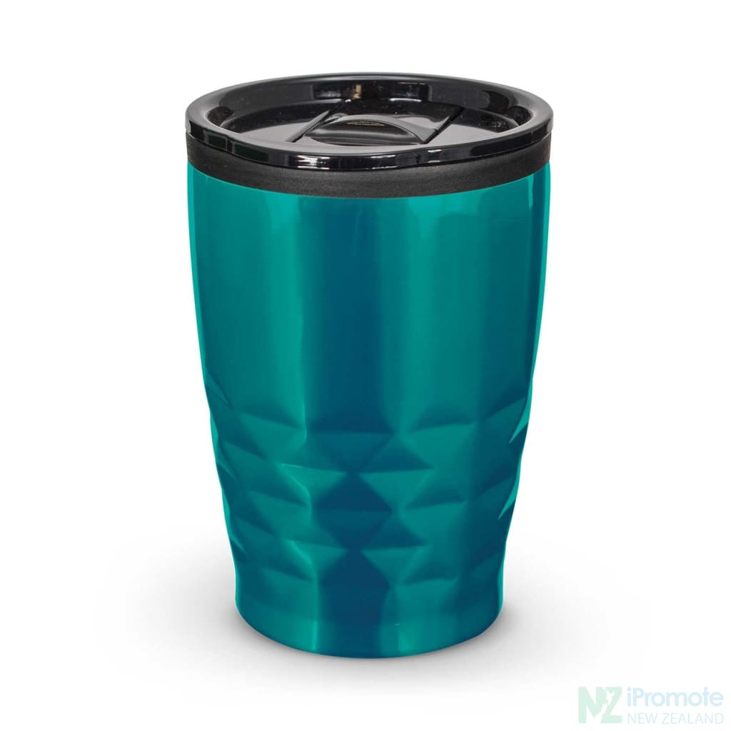 Urban Coffee Cup Teal Reusable Mugs