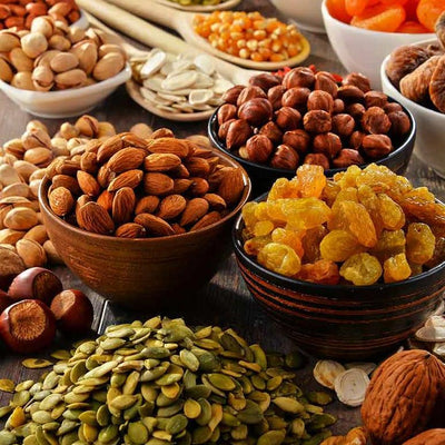 Bulk Nuts-Seeds-Dried Fruit