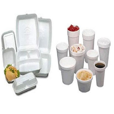 Foam Take-Out Containers