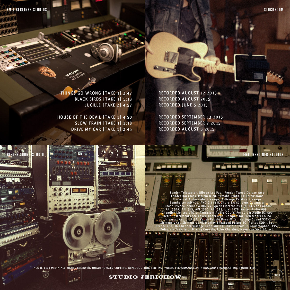 Stockroom Recordings II Custom Gold Edition