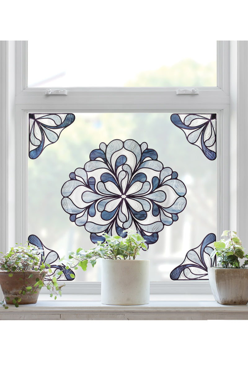Artscape Window Film Capri Slate Accent Lifestyle Image