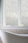 Artscape Etched Lace Window Film Lifestyle Image