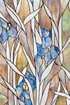 Artscape Iris Garden Window Film Product Detail Image