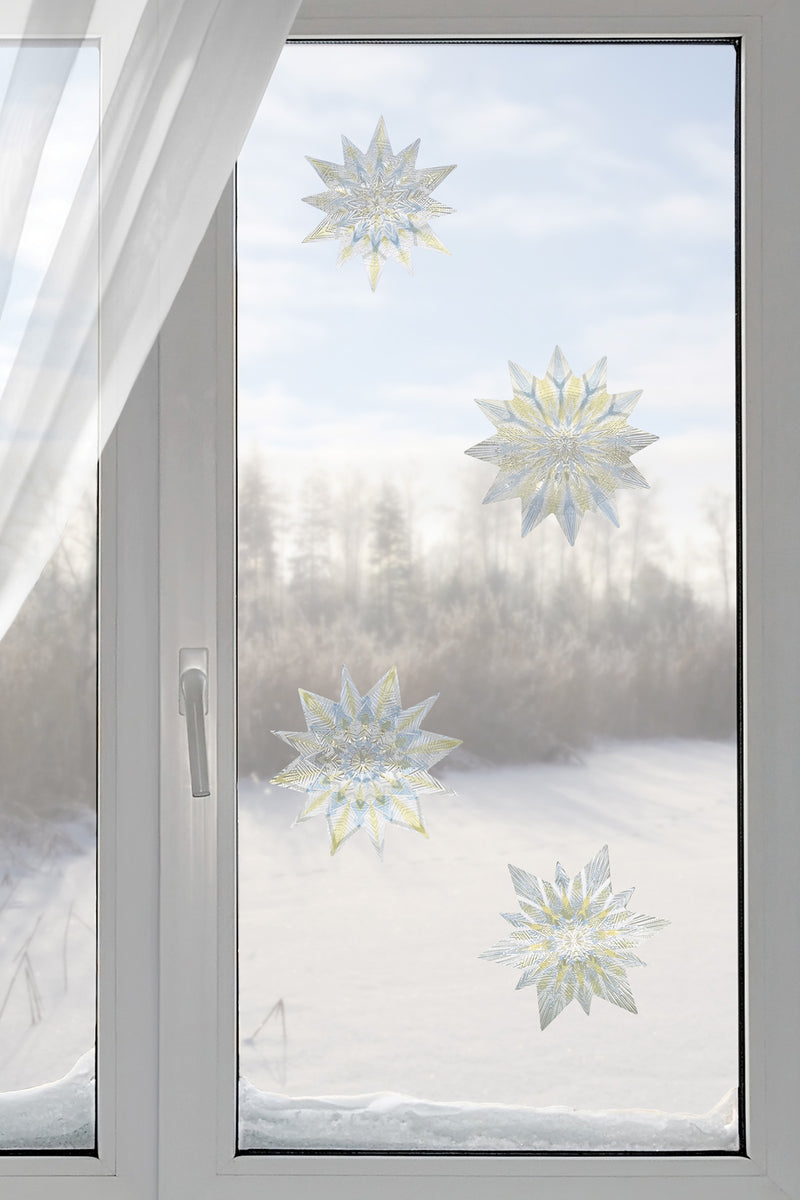 Artscape Nordic Stars Window Film Accent Lifestyle Image