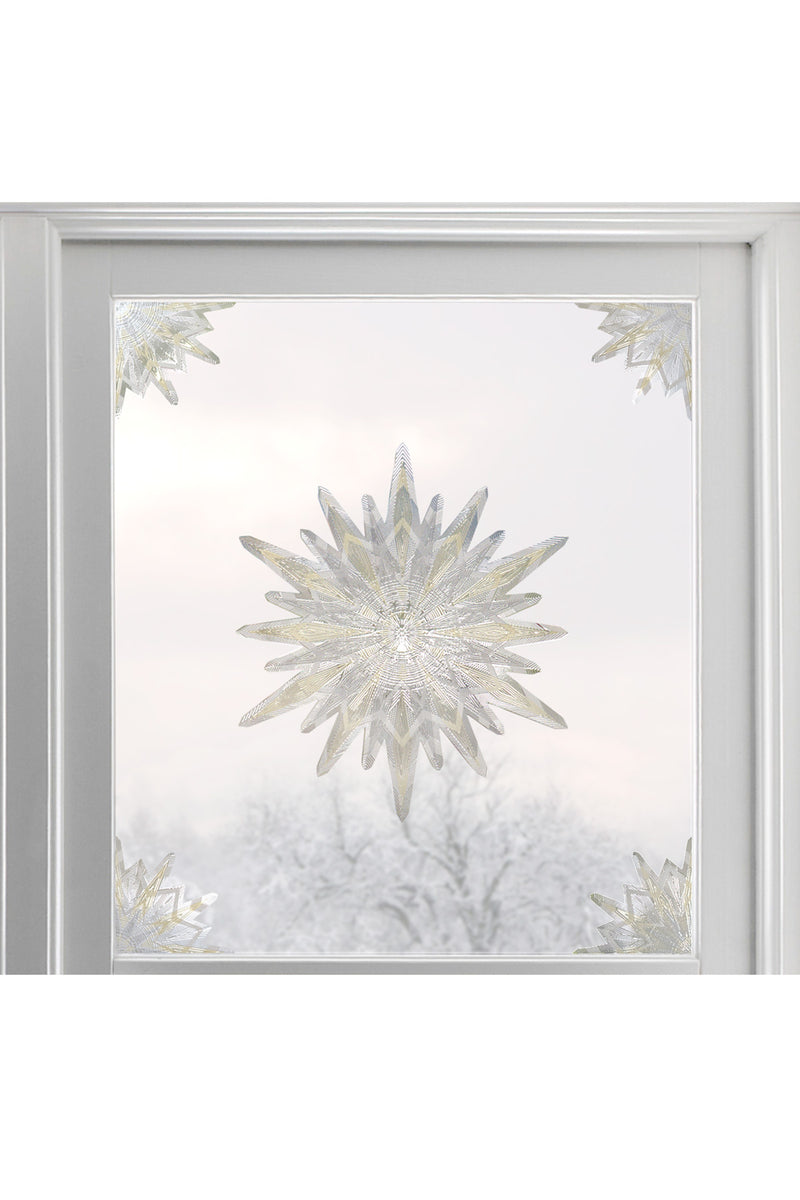 Artscape Gold Star Window Accent Lifestyle Image