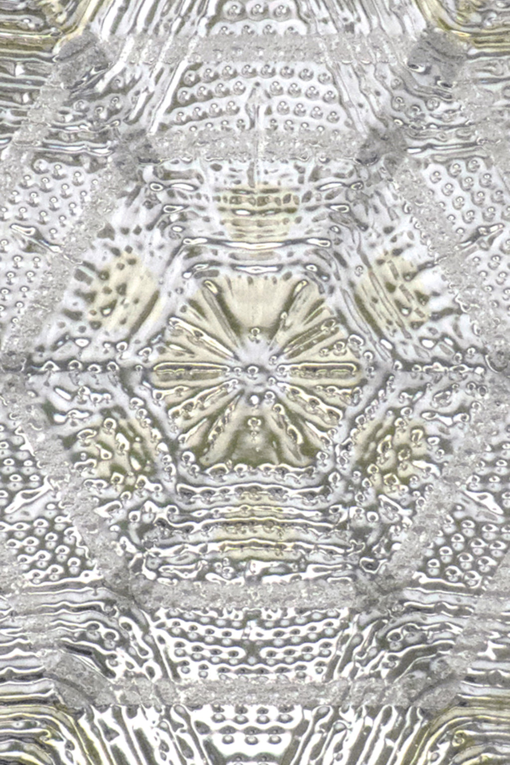 Artscape Citrine Snowflake Window Film Accent Product Detail Image