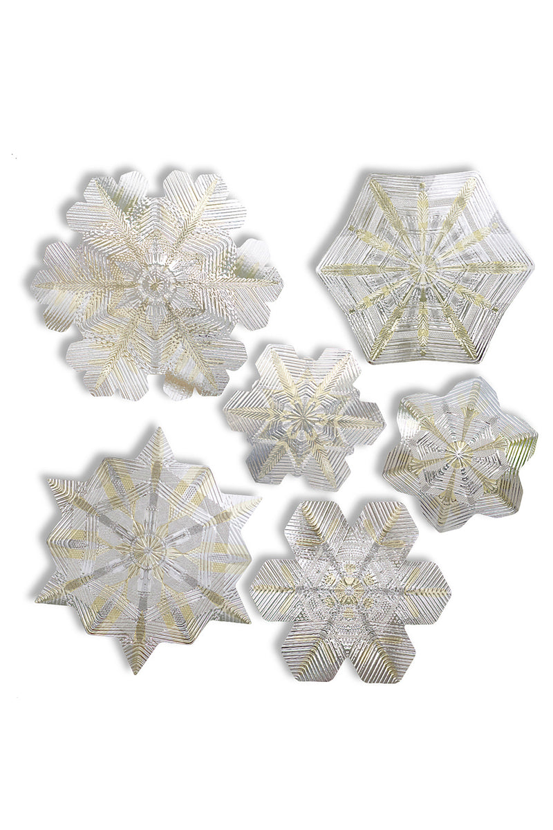 Artscape Citrine Snowflake Window Film Accent Product Image