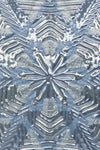 Artscape Sapphire Snowflake Window Film Accent Product Detail Image