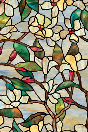 Artscape Summer Magnolia Window Film Product Detail Image