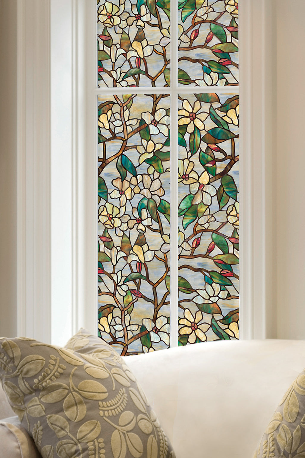 Artscape Summer Magnolia Window Film Lifestyle Image