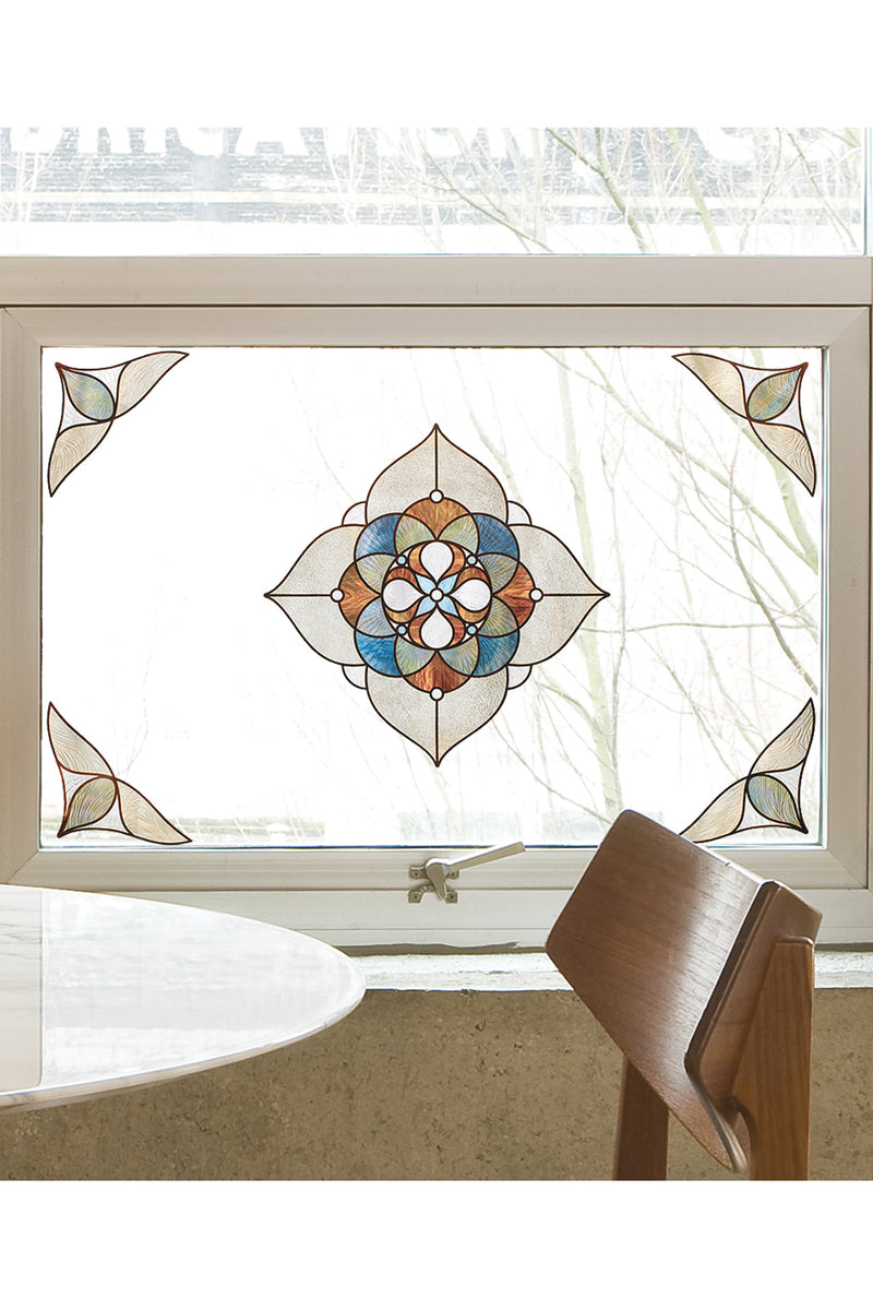 Artscape Venice Amber Window Film Accent Lifestyle Image
